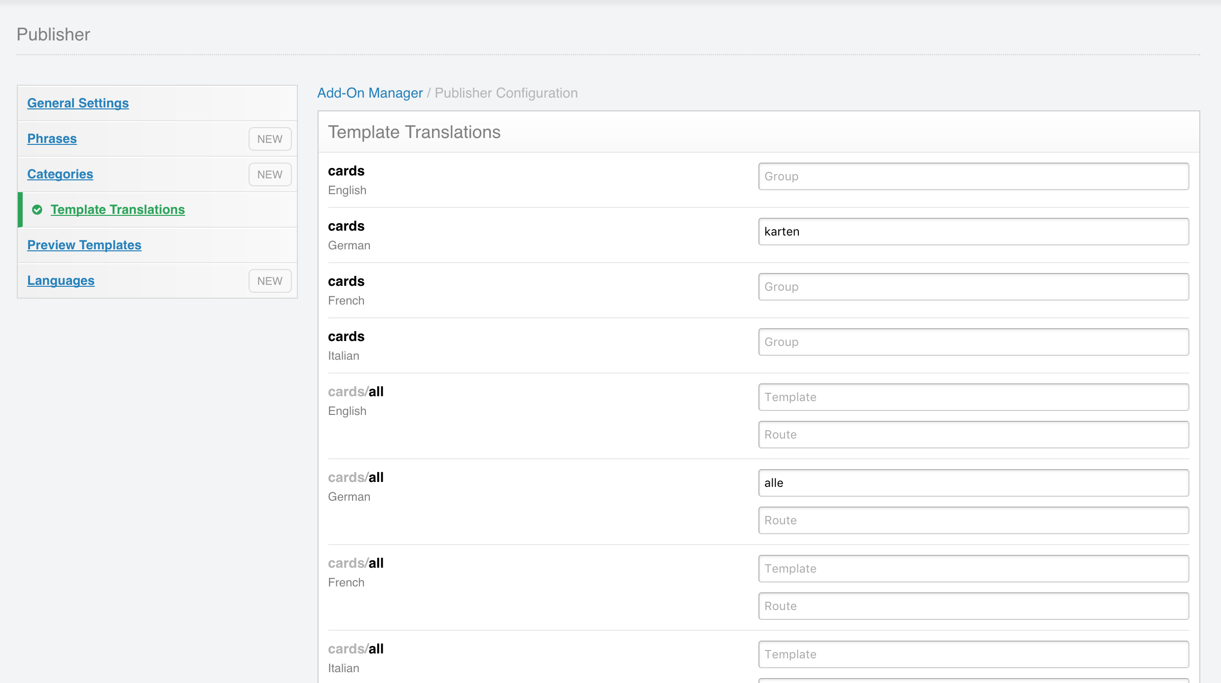Publisher Multilingual Content And Publishing Workflow In